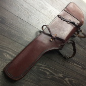 Чехол Cabela's Deluxe Leather Rifle Scabbard